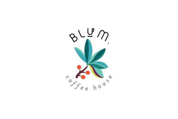 blum coffee house logo