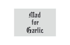 Mad For Garlic Logo