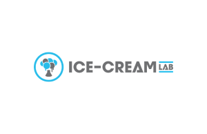 Ice cream lab logo