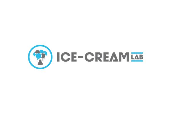 Ice cream lab logo